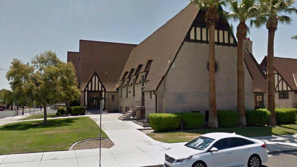 LVMPD Arson investigators probe Mormon church, union hall fires near downtown