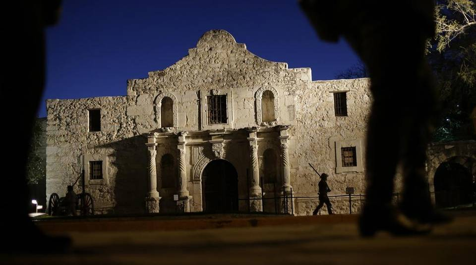 Alamo dig yields colonial wall remnants