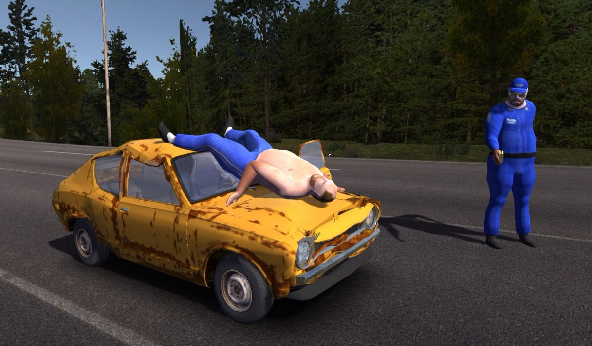 My Summer Car On Twitter Sorry Officer He Did Not Fit Inside My