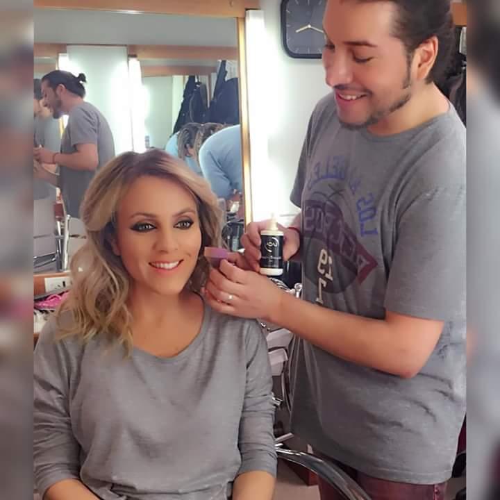 @LaboratorioLACA  #MaquilladoresProfesionales #Fotografia #Tv @MARTINBLANCOMAK  #Infama #CoraDeBarbieri pic.twitter.com/nAK0zUzXnb
