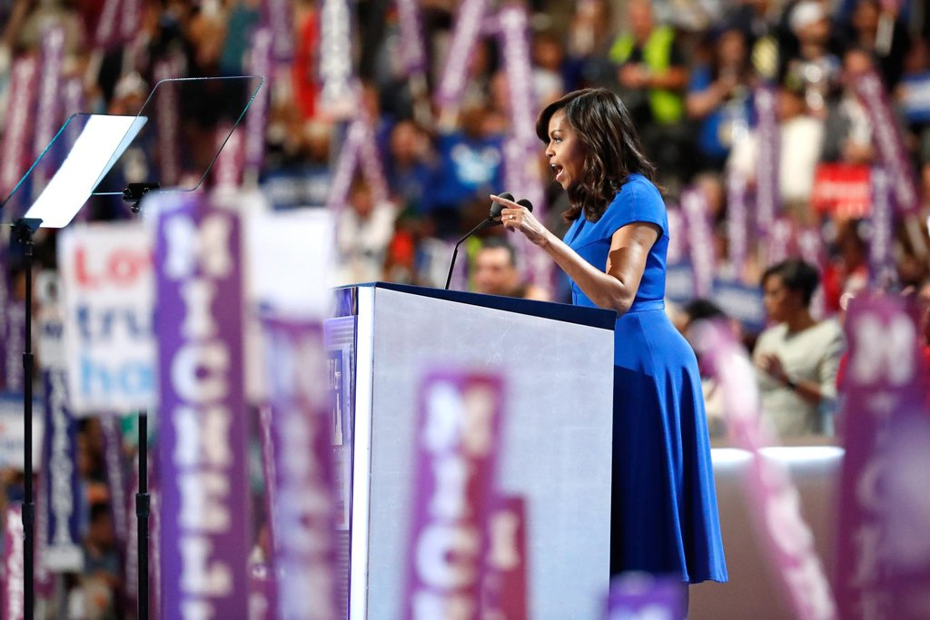Read Michelle Obama's speech to the Democratic convention DemsInPhilly