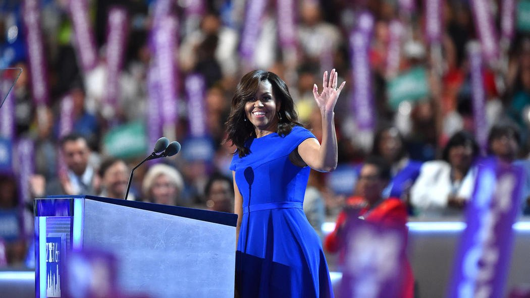 Michelle Obama's full speech at the Democratic National Convention here