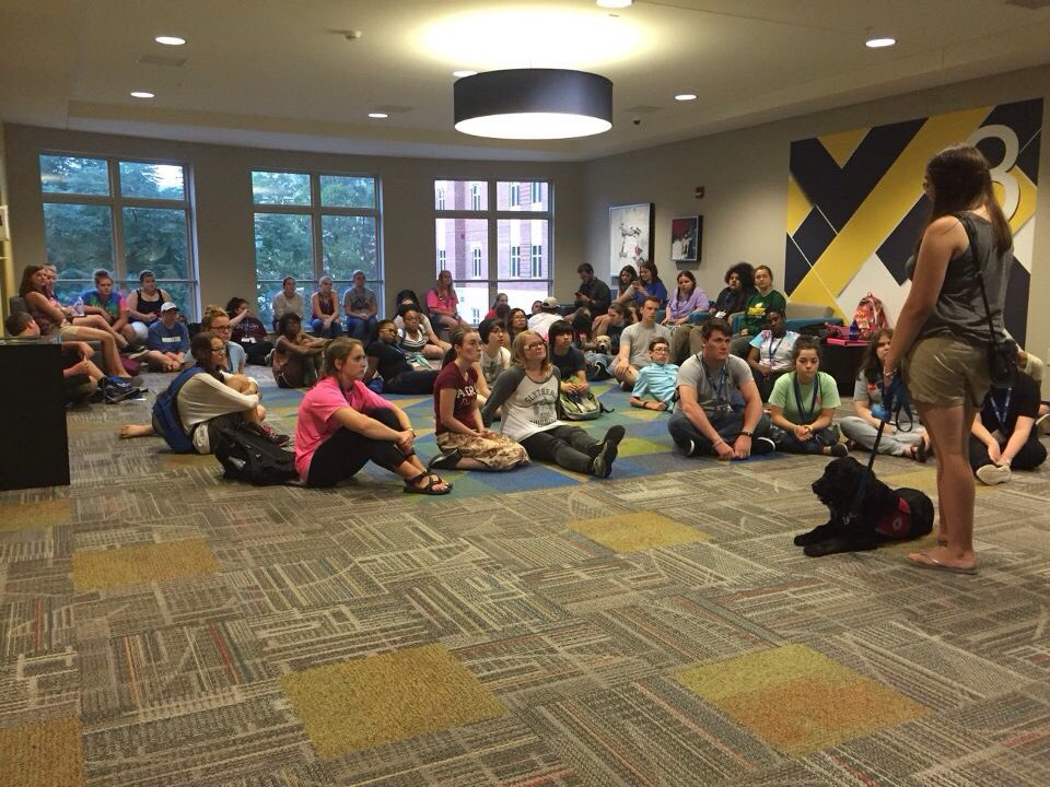 PAWS program featured in residence hall
