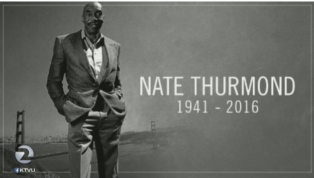 Described as gentle giant on & off court; @warriors legend NateThurmond laid to rest