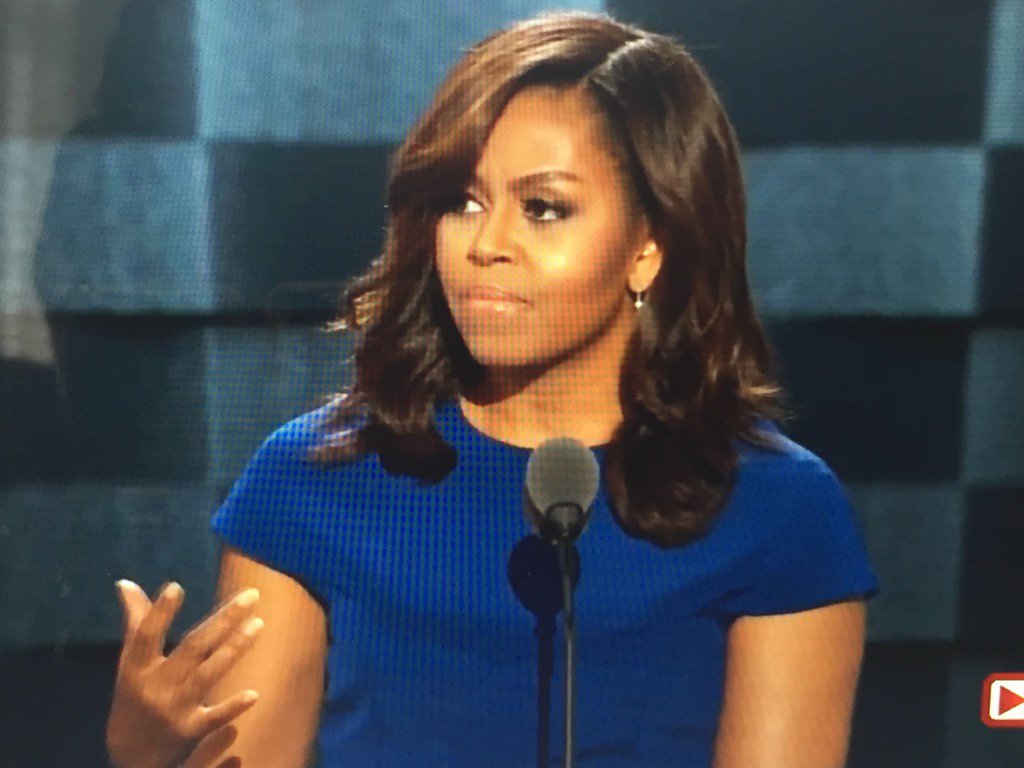 """""""When they go low, we go high!"""" There will never be another like @MichelleObama @FLOTUS #DemsInPhilly https://t.co/JuxkzvlZMZ"""