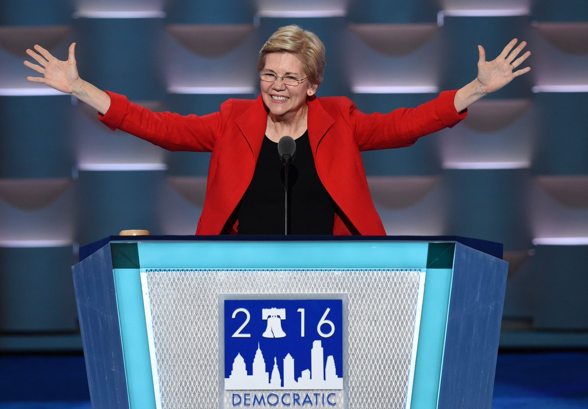 Sen. Elizabeth Warren says