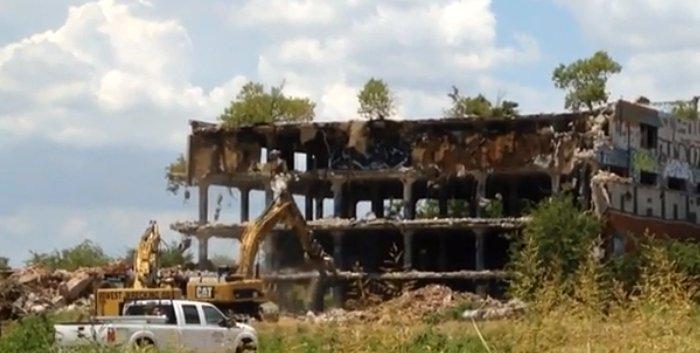 Demolition begins in Fort Worth Stockyards