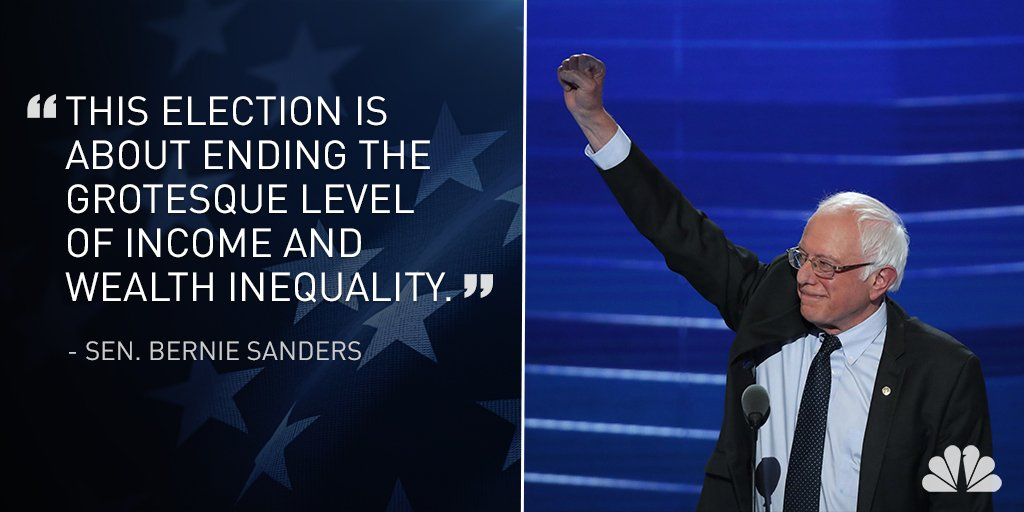LIVE VIDEO: @BernieSanders addressing crowd at DNCinPHL.
