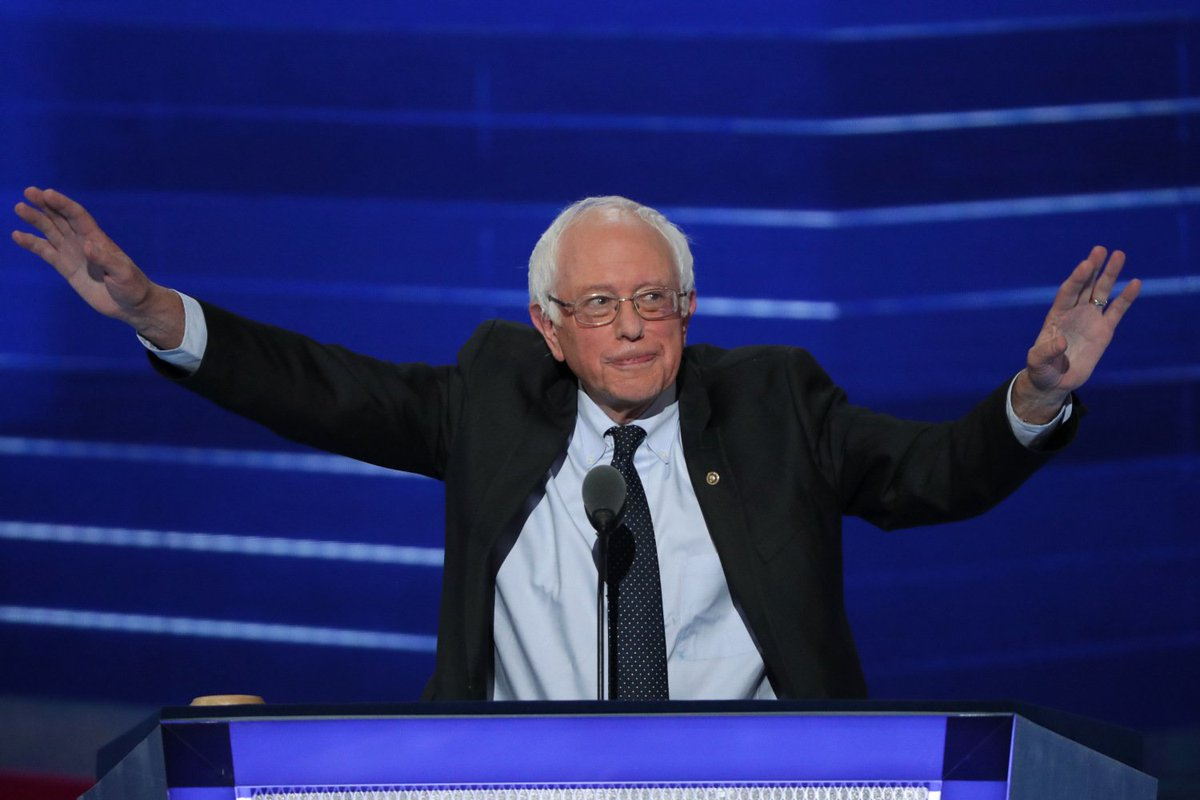 After Turmoil, Sanders, Mrs. Obama, Warren Thrill Convention