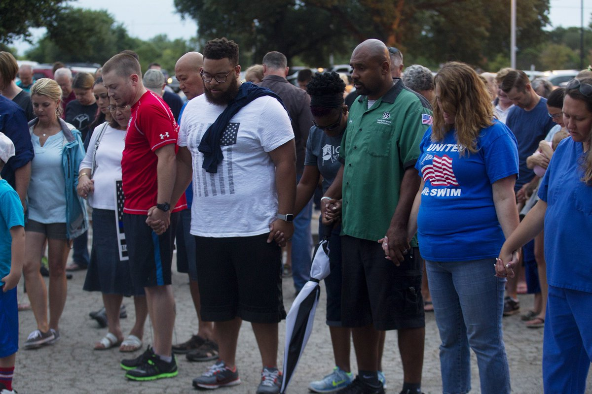 Scenes from the vigil for Sgt. Craig Hutchinson ...