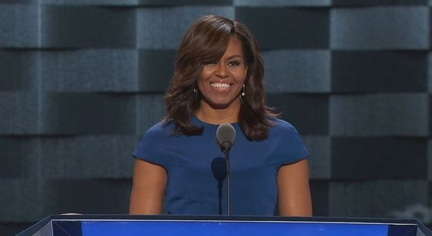 Michelle Obama electrifies Dem convention