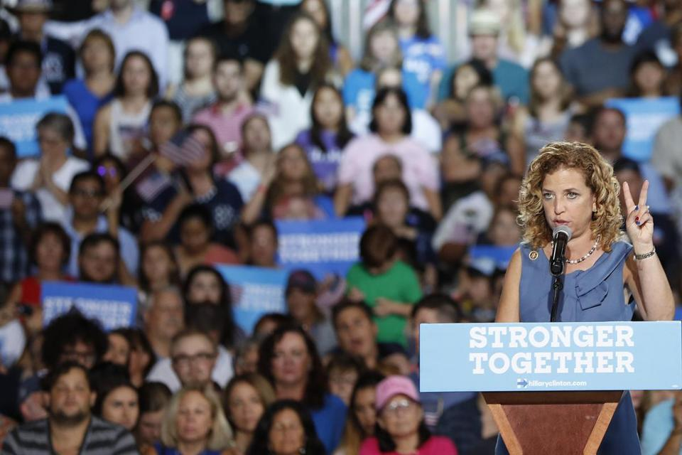 Wasserman-Schultz to join the Clinton campaign after stepping down as DNC chairwoman