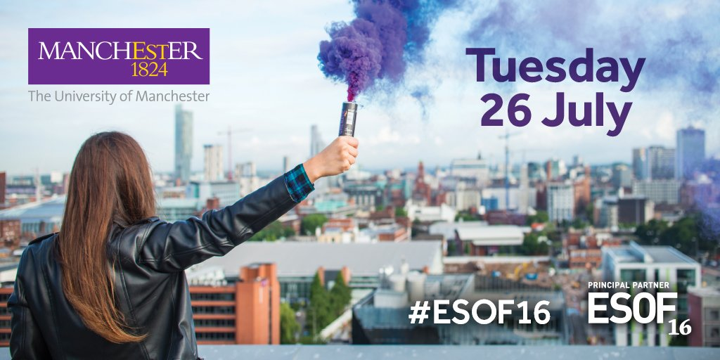 Thumbnail for Today at #ESOF16: Tuesday