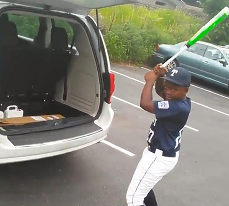 THERE IS CRYING IN BASEBALL: Dad surprises son w/ bat after pretending to forget birthday