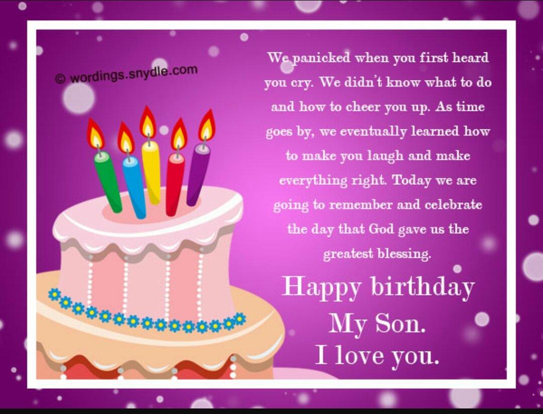 Khuselwa Dyantyi On Twitter Happy Birthday Son
