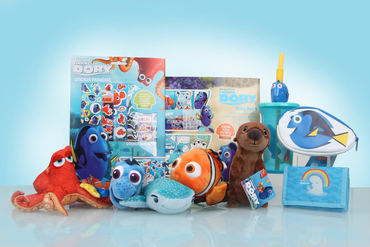 #FindingDory GIVEAWAY!! Follow and RT by Midday on Tuesday 2nd August to be in with a chance #Disney #PIXAR https://t.co/ACp9sp6KUs