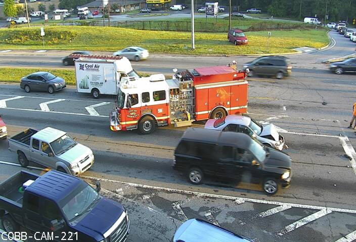 "Cobb County DOT on Twitter: ""Car Accident Canton Rd Conn. NB at Sandy Plains Rd. causing some #DELAYS #ATLtraffic… """