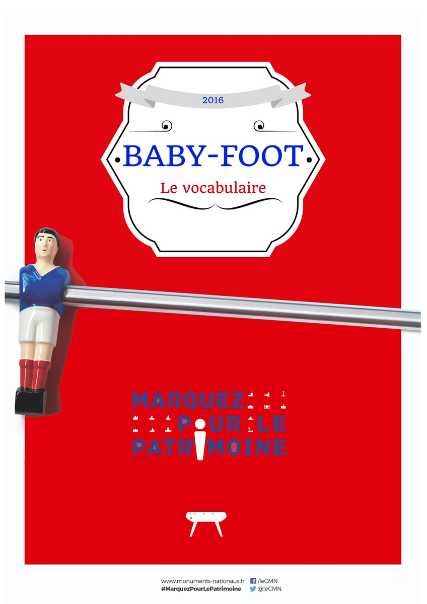 baby foot vocabulaire