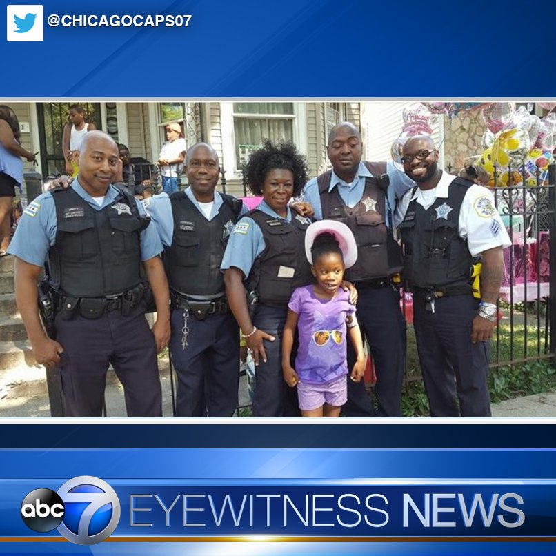 CPD welcomes home 6-year-old girl shot in South Side drive-by