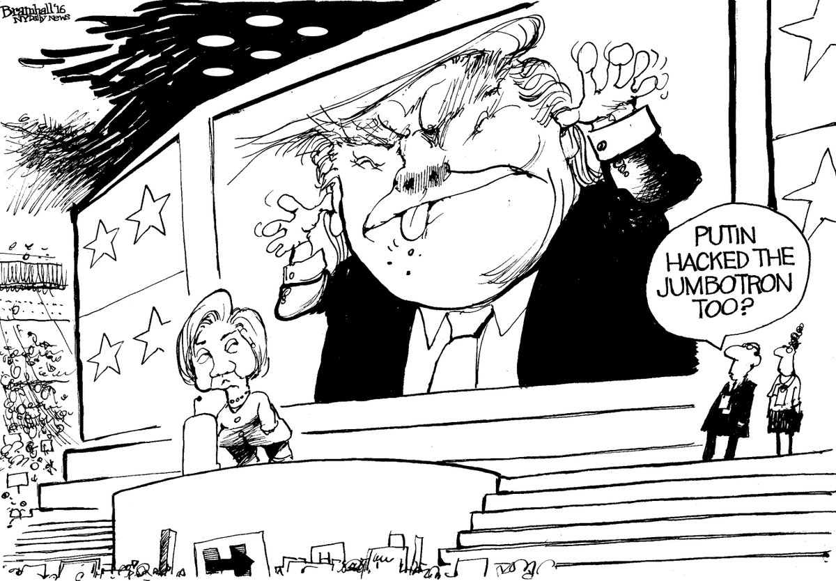 Today's @BillBramhall cartoon | SEE MORE