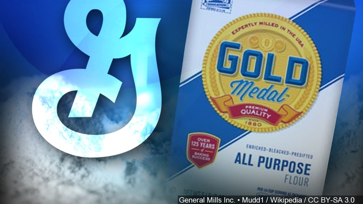 More @GeneralMills flour is under recall. Check to see if you have these products
