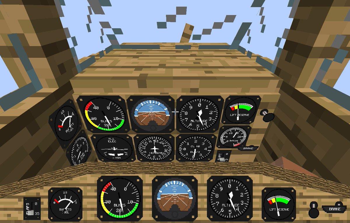мод на самолёты в майнкрафт 1.7.10 #5