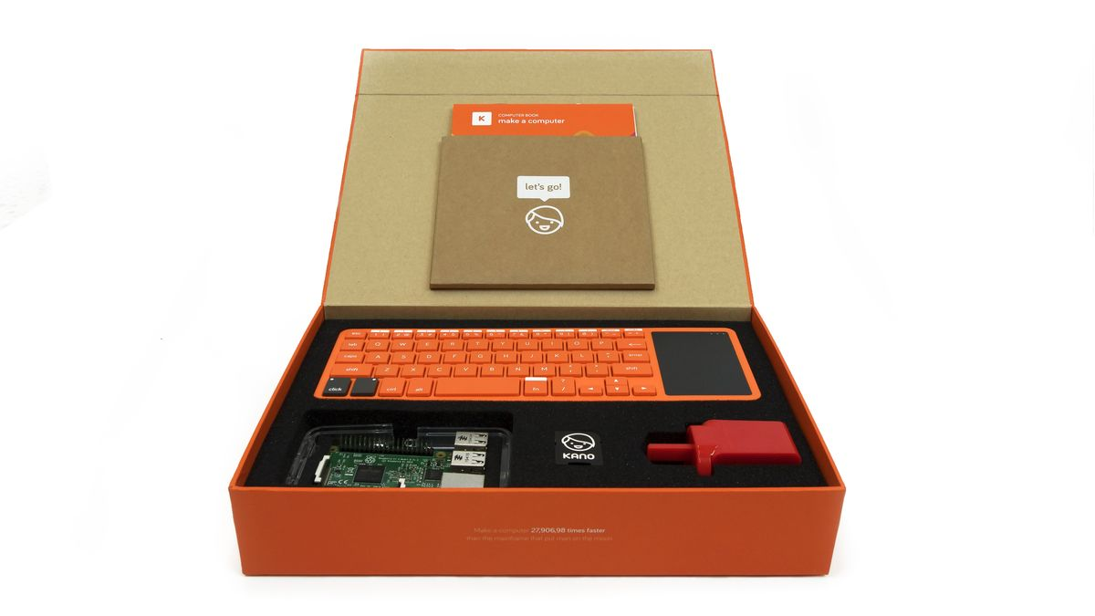 Kickstarter hit Kano's DIY computer is coming to IRL retailers
