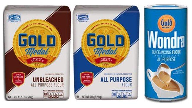 More General Mills flour recalled