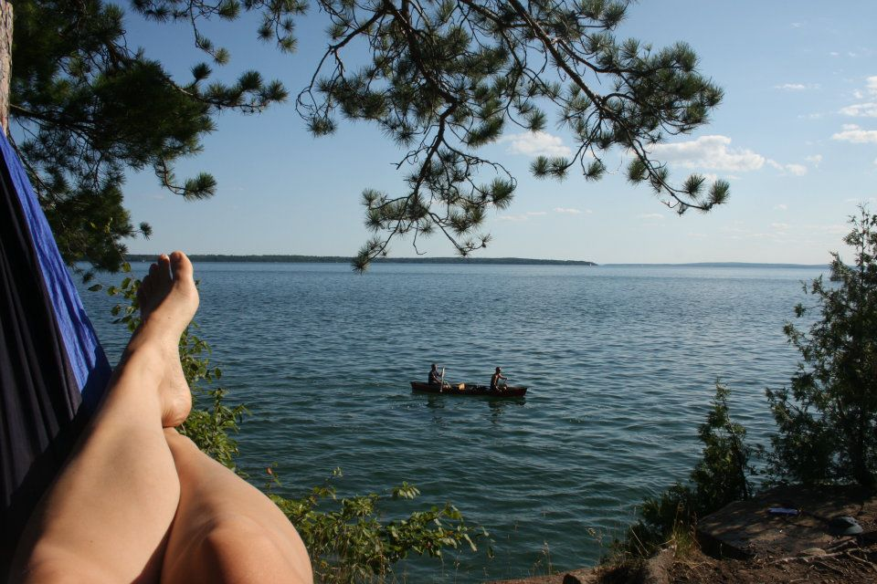 Another fav #seagrantwater memory, kayaking the #apostleislands Lake Superior with friends. Perfect day! #SeaGrant50 https://t.co/j4xY06mYRw