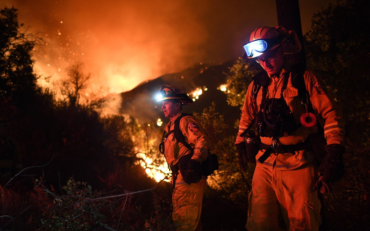 State of local emergency declared due to Sand fire
