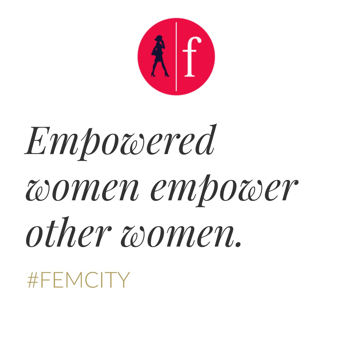#femcity #empowerment #businessforyoursoul https://t.co/ARzOJi1Bn2