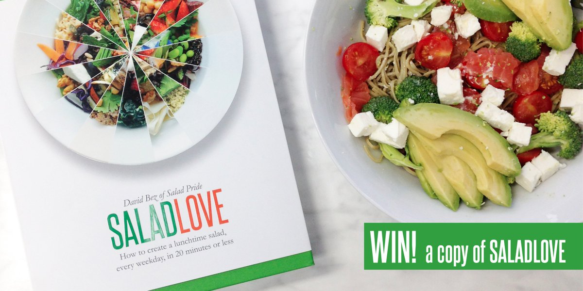 Celebrate #NationalSaladWeek & RT for your chance to #WIN a copy of Salad Love! Enter by midday Friday https://t.co/DXkY9zvGam
