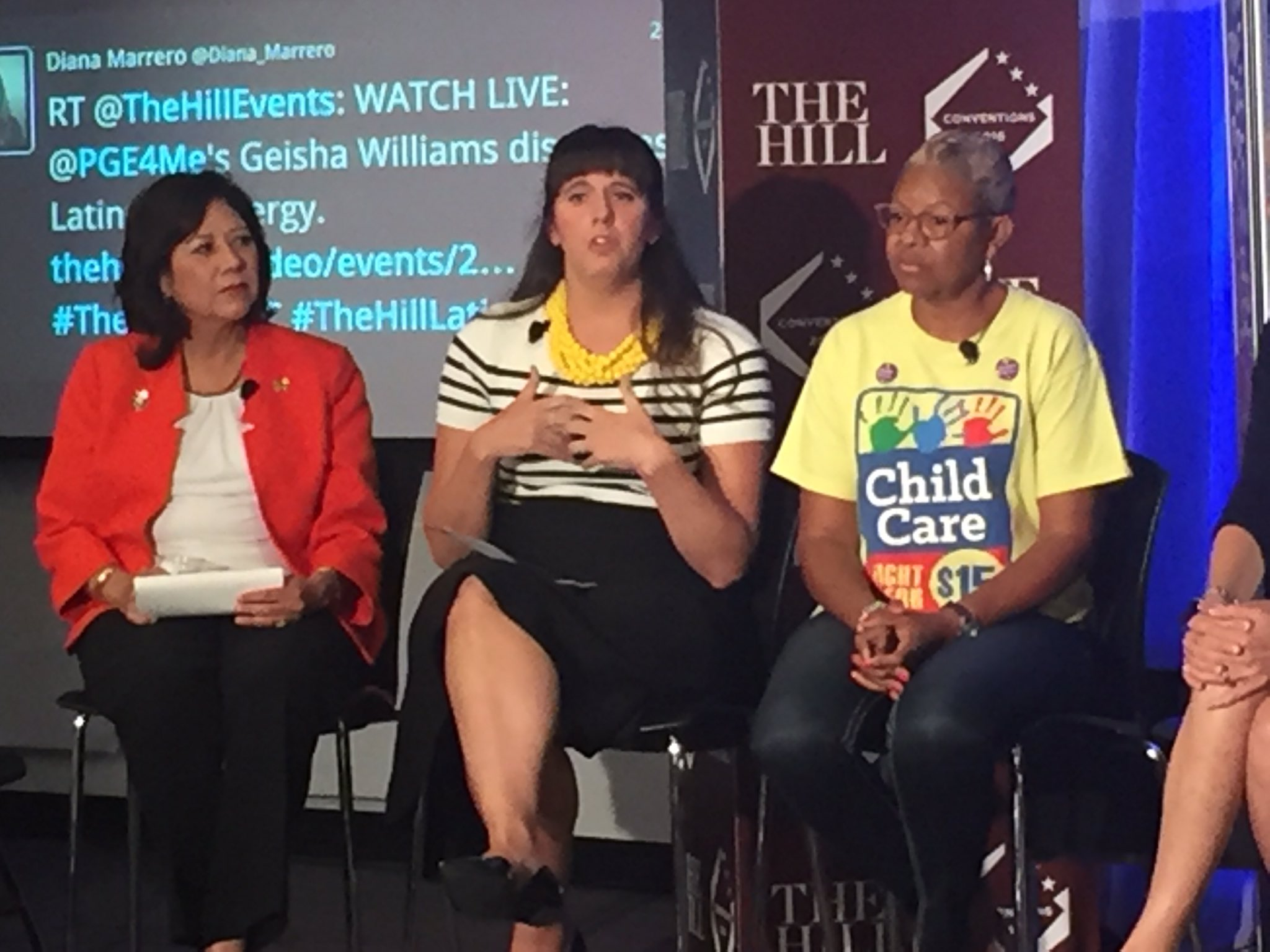 The 2nd highest concern for millennial women is balancing a career and family  #ChildcareDNC #FamilyPolicyDNC https://t.co/ScXbVa9oEK