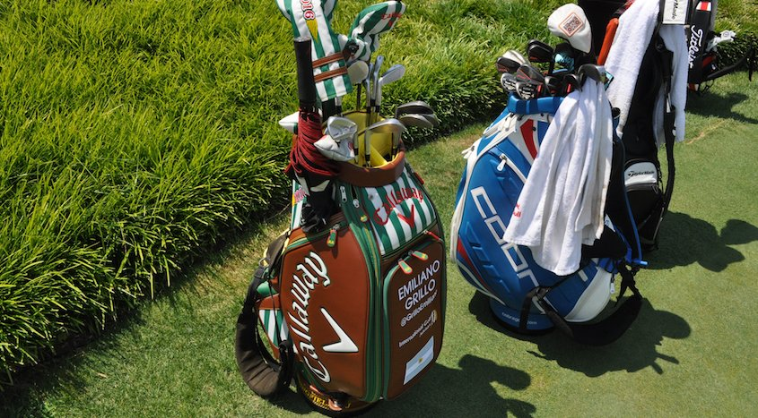 You May See Some Funky Golf Bags At