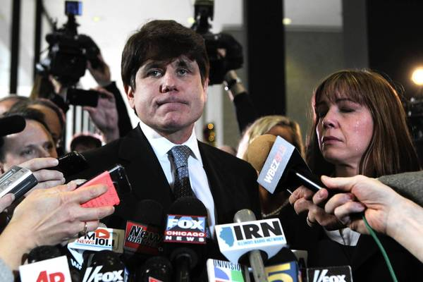 With resentencing hearing looming, Blagojevich's prosecutors say he isn't remorseful enough