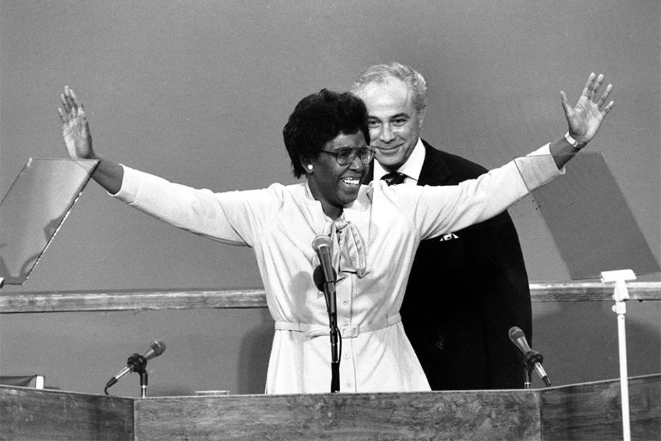 In 1976, the first woman delivered the keynote address at the #DNC. That woman was #BU alum Barbara Jordan (LAW'59) https://t.co/o7I0gIG380