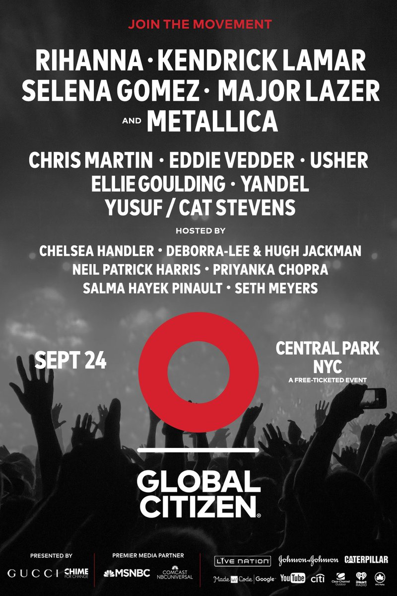Big news! I'm playing this year's #GCFestival 9/24. Take action to ear...