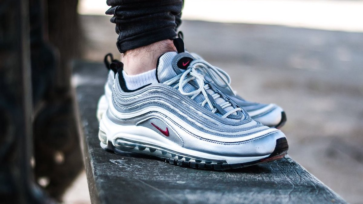 Where To Buy Cheap Nike Air Max 97 Silver Bullet