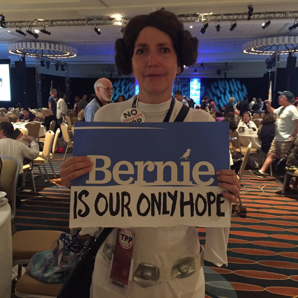 Just spoke to @KamalaHarris @AGKamalaHarris says Sanders' supporters will come around for Clinton. Meanwhile...this
