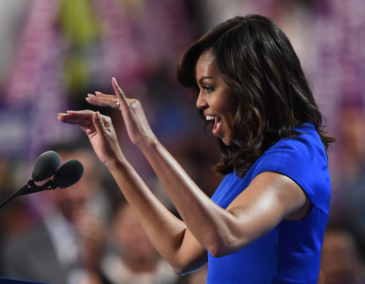 Read Michelle Obama's electrifying speech to the Democratic convention DemsinPhilly