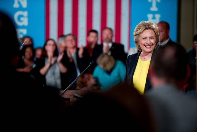 It's official: @HillaryClinton becomes first woman to claim presidential nomination of major US party Election2016