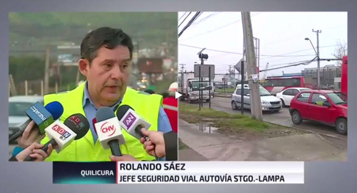 Santiago Lampa Concesionaria A Cargo De Obras En Autopista Santiago