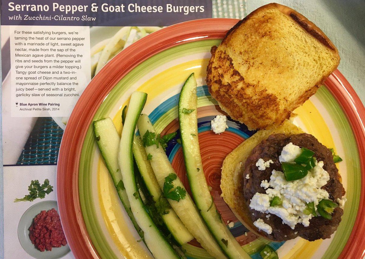 Blue apron zucchini slaw - Like 1