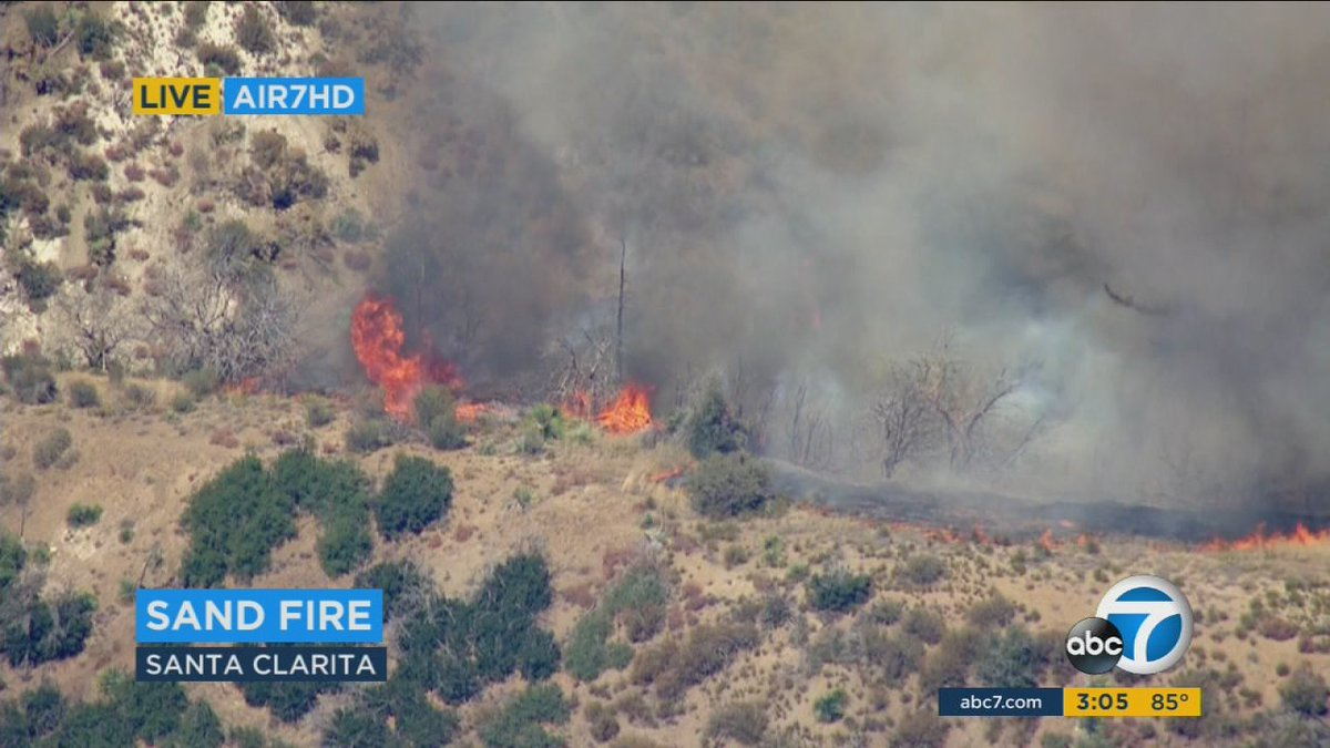 Firefighters gaining upper hand against 37,000-acre SandFire