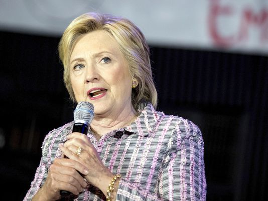 Clinton becomes first woman nominated to lead major party