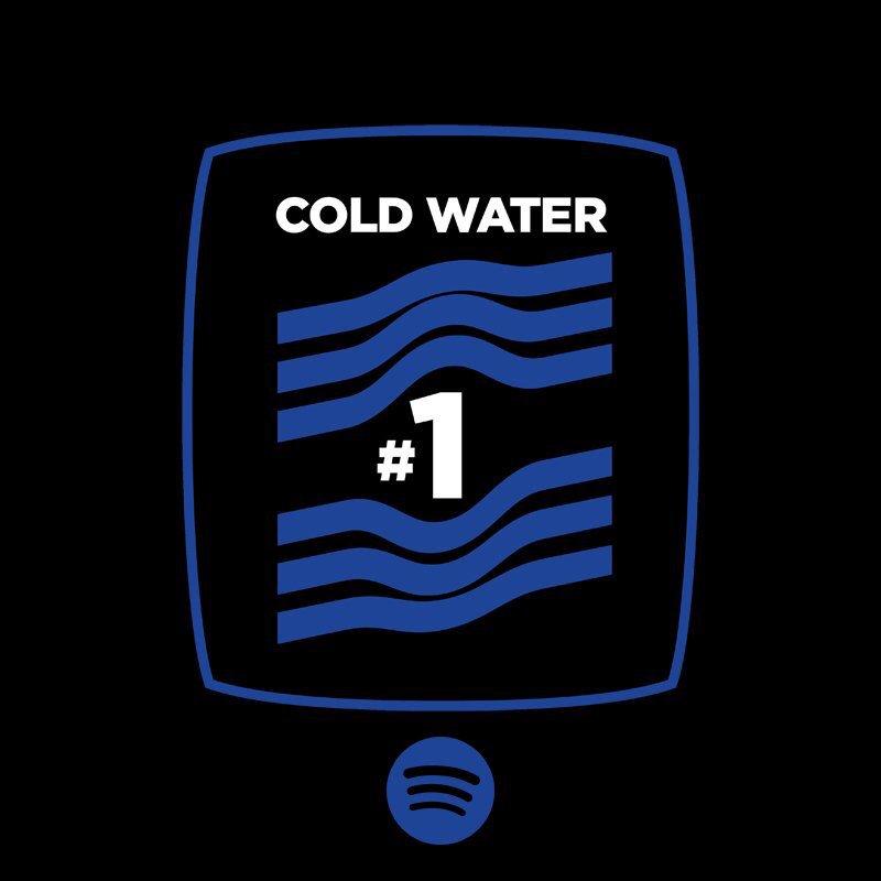 #1 @spotify in 4 days #ColdWater #TheBieberEffect https://t.co/gUnF0Hvpml