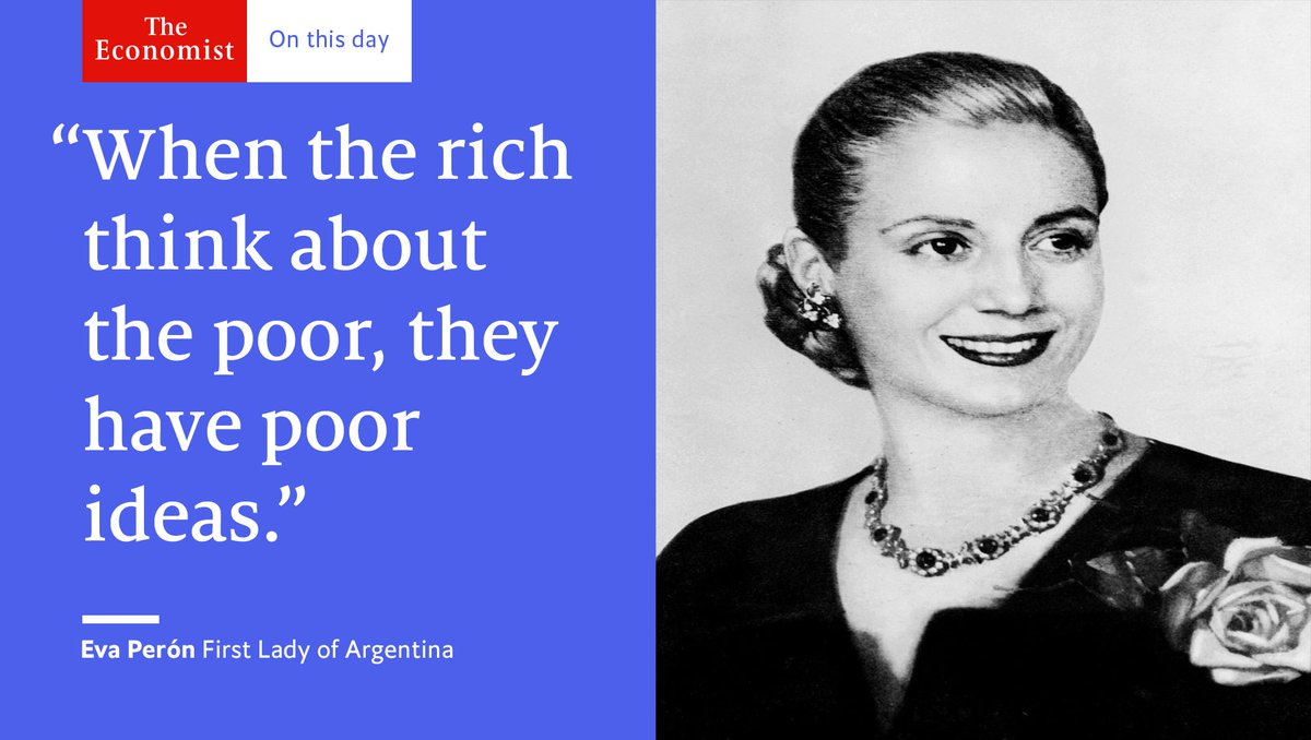 a life changed how eva peron rose The role of eva peron has all the ingredients of tragic opera like tosca and violetta in 'la traviata', eva rose to fame and died a tragic, premature death politics, passion and glamour - no wonder the story inspired one of the most popular musicals of all time.