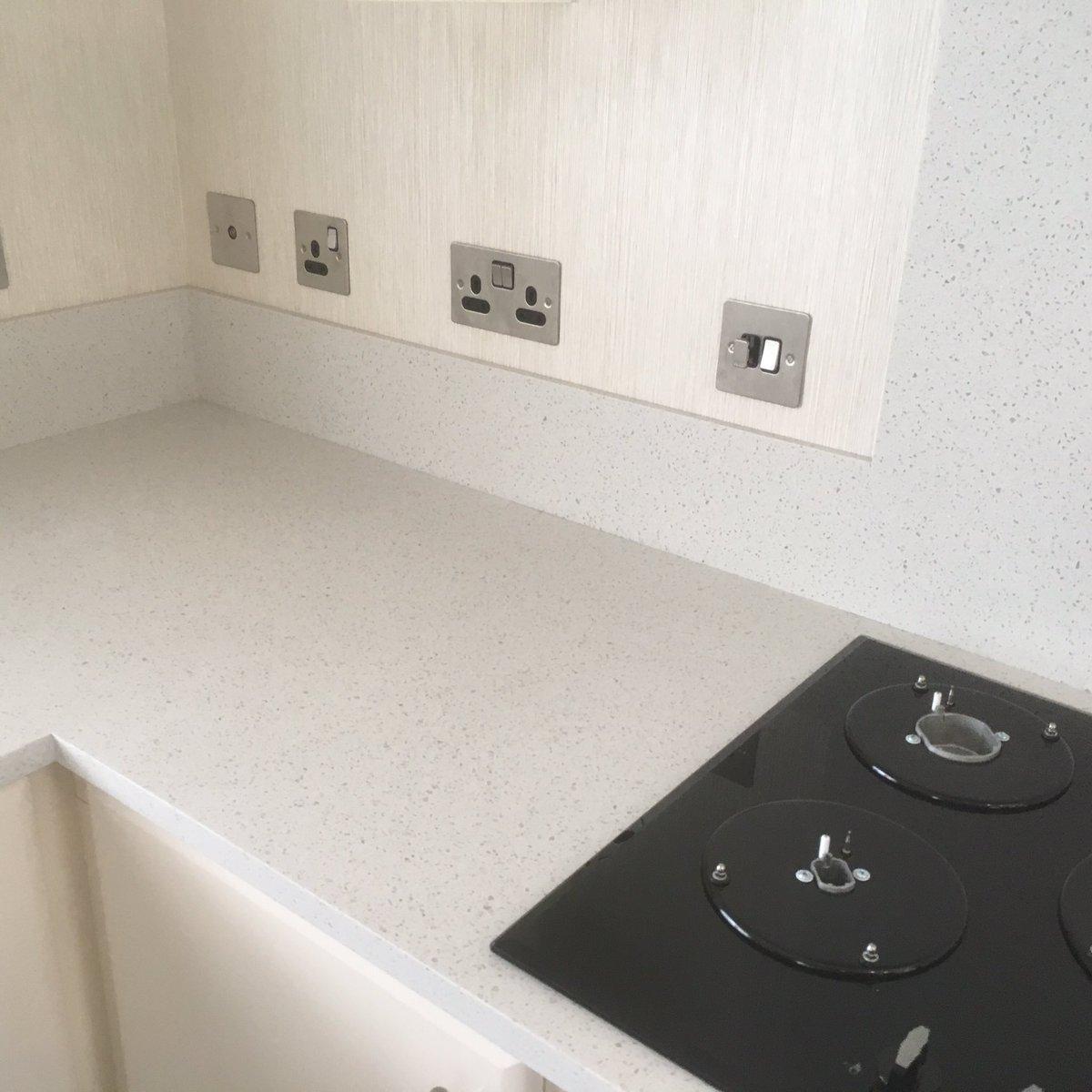 Minerva bathroom tops minerva - Brian Jackman On Twitter Minerva Grey Crystal Worktops Installed In A Luxury Holiday Home At Heathland Beach Park In Kessingland Today