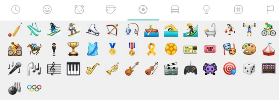 WhatsApp has a hidden Olympics emoji https://t.co/0JhL1Do01z https://t.co/D5XsQ7LKpO