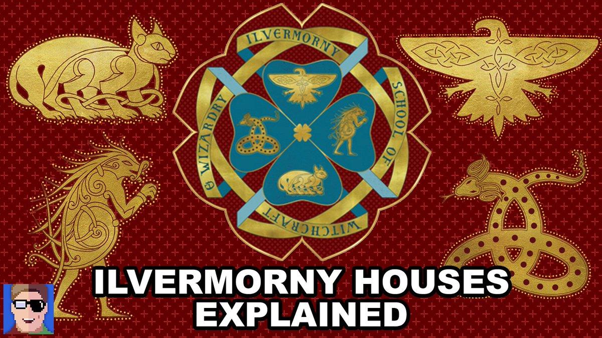 Jonathan Carlin On Twitter New Video Ilvermorny Houses Explained Tco Gw5E5dKVCj ThunderBirds